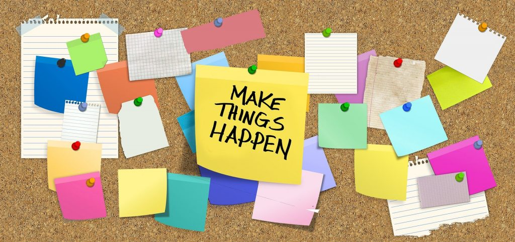 Make things happen - contact us